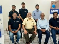 Imtiaz Rastgar Chairman Rastgar Group and Dr Arshad Ali CEO Asian Institute of Industrial Air with Sakoon Pneumatics Team at Wah office