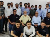 Rastgar Group Team with Sakoon Pneumatics Wah office Team